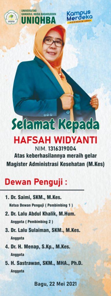 Hafsah Widiyanti
